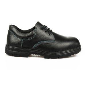 รองเท้านิรภัยหุ้มส้น รุ่น 0201 พื้น PU (รองเท้าหัวเหล็ก รองเท้าเซฟตี้)