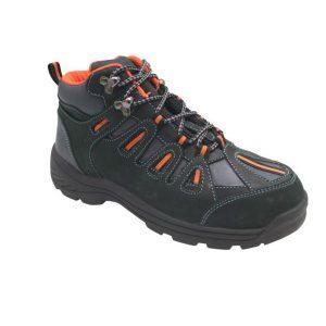 รองเท้านิรภัยหุ้มข้อ รุ่น 0386 พื้นPU