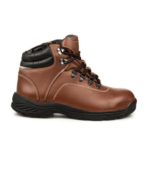 รองเท้านิรภัยหัวเหล็กหุ้มข้อ รุ่น 0387 พื้นPU (รองเท้าเซฟตี้ รองเท้าSAFETY)