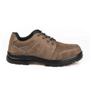 รองเท้านิรภัยหัวเหล็กหุ้มส้น รุ่น 2010 พื้น PU (รองเท้าเซฟตี้,รองเท้าSAFETY)