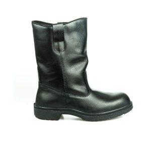 รองเท้านิรภัย บู๊ทสูง แบบสวม รุ่น 9507 พื้น PU