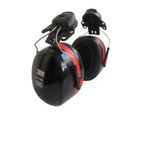 ที่ครอบหูประกอบหมวก 3M รุ่น H10P3E คุณสมบัติ : ๐ รุ่นพิเศษ ฝาครอบ2ชั้น ลดเสียง NRR : 27 dB ๐ เหมาะกับการใช้ ลดเสียงในบริเวณที่มีเสียงดังเฉลี่ย 105 เดซิเบล ๐ ง่ายต่อการติดตั้งหรือถอดออกด้วยขาสปริงที่ให้ความพอดีรับกับใบหู ๐ สามารถปรับตำแหน่งที่ครอบหูให้พอดีและสวมใส่ได้อย่างสบาย ไม่กดทับ ๐ ขาที่ครอบหูแข็งแรงมั่นคง (ไม่หลุดหรือเลื่อนออกขณะการทำงาน) ๐ ทนต่อความร้อนและเย็นในทุกสภาพการทำงานแม้จะสวมใส่ทำงานเป็นเวลานาน ๐ ขณะไม่ใช้งานหูครอบจะไม่เกะกะศีรษะ ๐ สามารถใช้ร่วมกับหมวกนิรภัยคุณภาพสูงทุกรุ่นของแพงโกลิน ขนาดบรรจุ : 1 ชิ้น / กล่อง