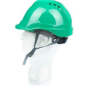 หมวกนิรภัย 9001S ชนิดรองในปรับเลื่อน แบบมีรูระบายอากาศ (หมวกเซฟตี้ SAFETY HELMET)