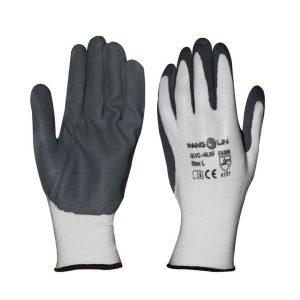 ถุงมือไนลอน 100% เคลือบโฟมไนไตร (ถุงมืองานซ่อมบำรุงอะไหล่รถยนต์)