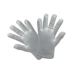 ถุงมือผ้าคอตตอน พับชาย