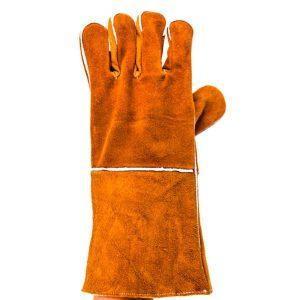ถุงมือหนังแบบมีฉนวนซับในป้องกันความร้อน