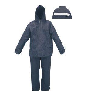 ชุดกันฝนผ้าร่ม เสื้อ-กางเกง