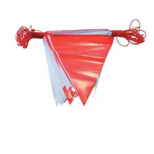 ธงราวขาว-แดง ยาว 20 เมตร